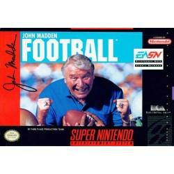 John Madden Football (Super NES, 1991)