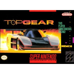 Top Gear (Super NES, 1992)