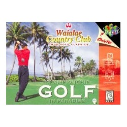 Waialae Country Club: True Golf Classics (Nintendo 64, 1998)
