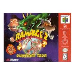 Rampage 2: Universal Tour (Nintendo 64, 1999)