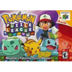 Pokemon Puzzle League (Nintendo 64, 2000)