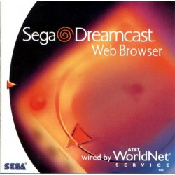 SEGA Dreamcast Web Browser
