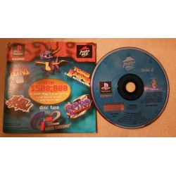 Pizza hut Playstation demo disk 2