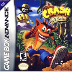 Crash Bandicoot: The Huge Adventure (Nintendo Game Boy Advance, 2002)