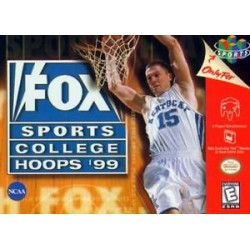 Fox Sports College Hoops '99 (Nintendo 64, 1998)