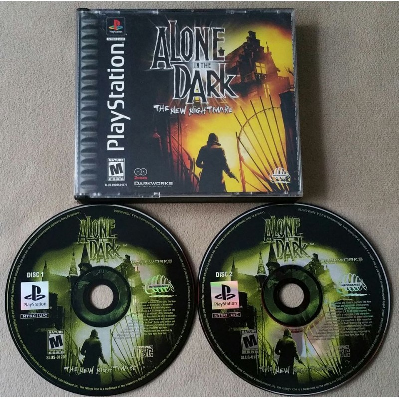 Alone In The Dark The New Nightmare Sony Playstation 1 2001