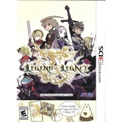 The Legend of Legacy (Nintendo 3DS, 2015)