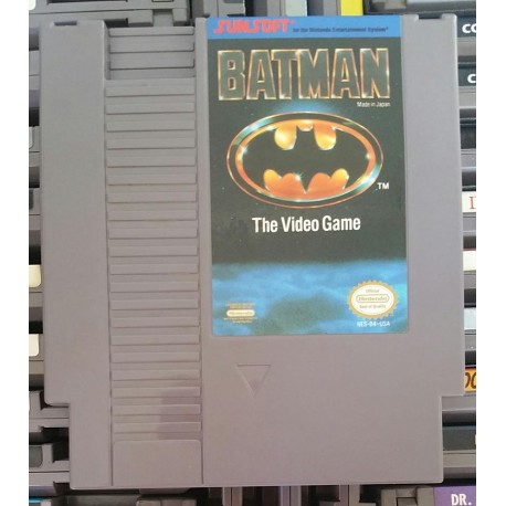 Batman: The Video Game (Nintendo, 1990)