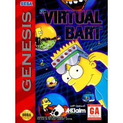 Virtual Bart (Sega Genesis, 1994)