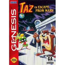Taz in Escape From Mars (Sega Genesis, 1994)
