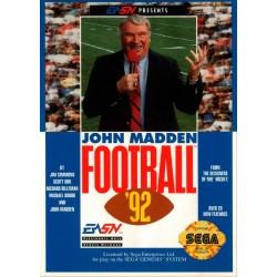 John Madden Football '92 (Sega Genesis, 1991)