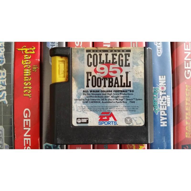 Bill Walsh College Football 95 Sega Genesis