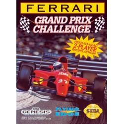 Ferrari Grand Prix Challenge (Sega Genesis, 1992)