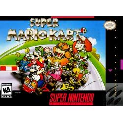 Super Mario Kart (Super NES, 1992)