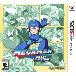 Mega Man Legacy Collection (Nintendo 3DS, 2016)