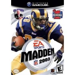 Madden NFL 2003 (Nintendo GameCube, 2002)