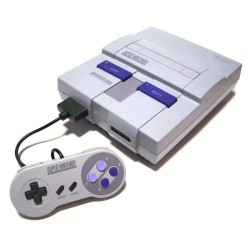 SNES console with SHVC sound chip