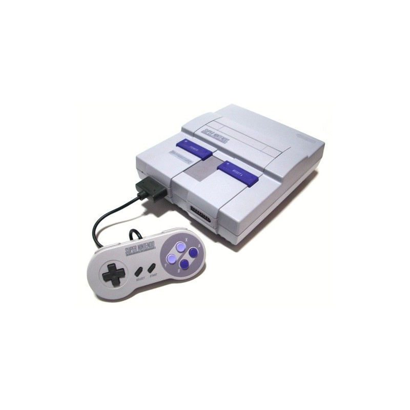 SNES console with SHVC sound chip - Game Igloo