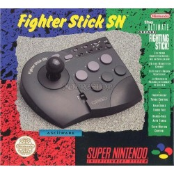 Asciiware Fighter Stick SN Joystick for Super Nintendo