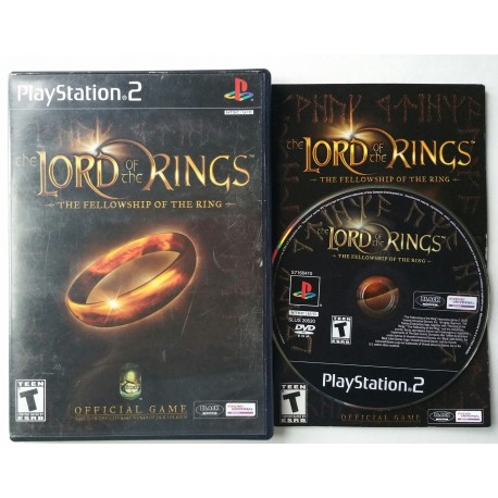 Lord of the Rings: Fellowship of the Ring - PlayStation 2
