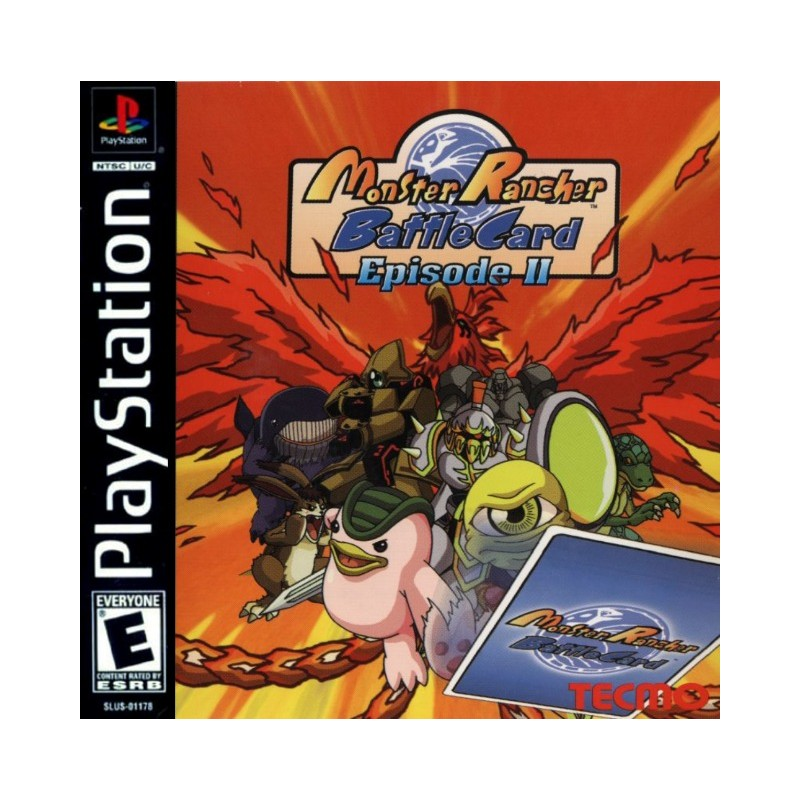 monster rancher cards