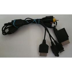 Multi system AV cable