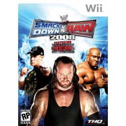 WWE SmackDown vs. Raw 2008 Featuring ECW (Wii, 2007)