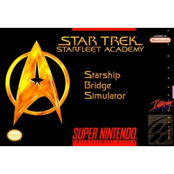 Star Trek: Starfleet Academy Starship Bridge Simulator (SNES, 1994)