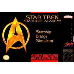 Star Trek: Starfleet Academy Starship Bridge Simulator (SNES, 1994)