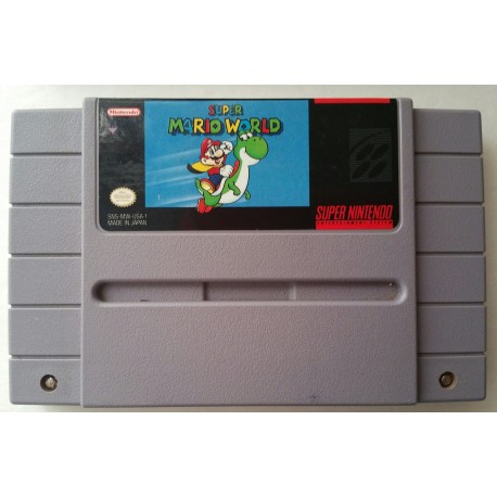 Super Mario World (Nintendo SNES, 1991)