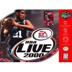 NBA Live 2000 (Nintendo 64, 1999)