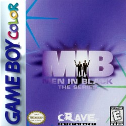 Men in Black: The Series (Nintendo Game Boy Color, 1998)