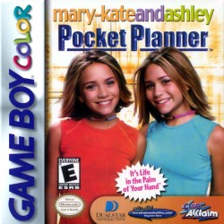 Mary-Kate and Ashley: Pocket Planner (Nintendo Game Boy Color, 2000)