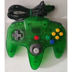 Official Nintendo 64 Controller Clear Jungle Green