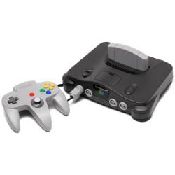 Grey N64 Console