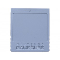 Official NINTENDO GAMECUBE 59 Block Memory Card DOL-008
