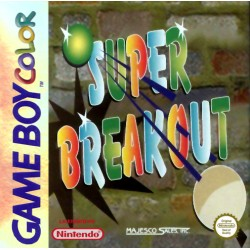 Super Breakout (Nintendo Game Boy Color, 1999)