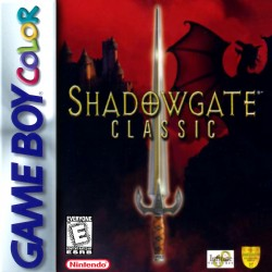 Shadowgate Classic (Nintendo Game Boy Color, 1999)