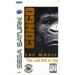 Congo: The Movie -- The Lost City of Zinj (Sega Saturn, 1996)