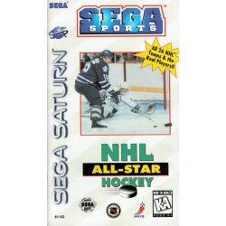 NHL All-Star Hockey (Sega Saturn, 1995)