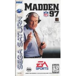 Madden NFL '97 (Sega Saturn, 1996)