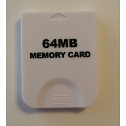 3rd party Nintendo Gamecube memory card 64mb