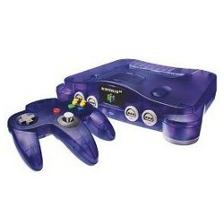 FUNTASTIC GRAPE PURPLE CONSOLE Nintendo 64 N64 System