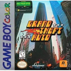 Grand Theft Auto (Nintendo Game Boy Color, 1999)