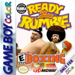 Ready 2 Rumble Boxing (Nintendo Game Boy Color, 1999)