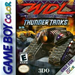 World Destruction League: Thunder Tanks (Nintendo Game Boy Color, 2000)