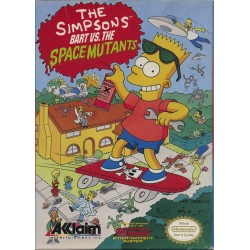The Simpsons: Bart vs. The Space Mutants (NES, 1991)