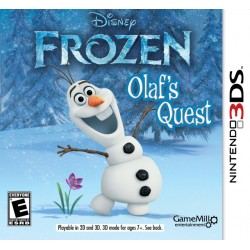 Disney Frozen: Olaf's Quest (Nintendo 3DS, 2013)