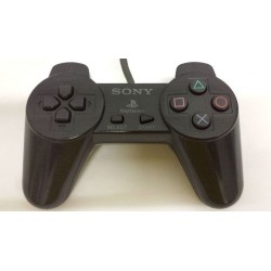 Black Sony Playstation 1 Controller SCPH-1080
