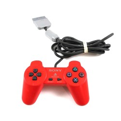 Red Sony Playstation 1 Controller SCPH-1080
